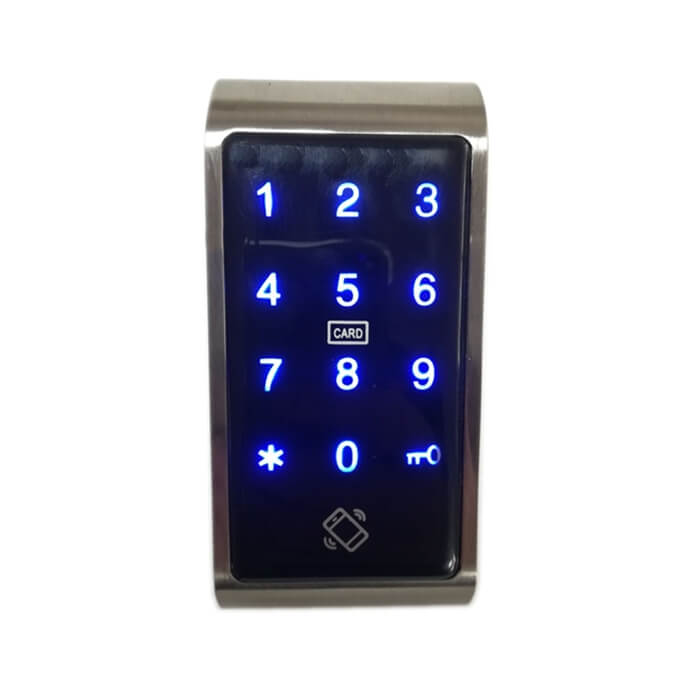 Bluetooth Electronic Cabinet Locks Without Handles SL C118 1 - Bluetooth Cabinet Lock