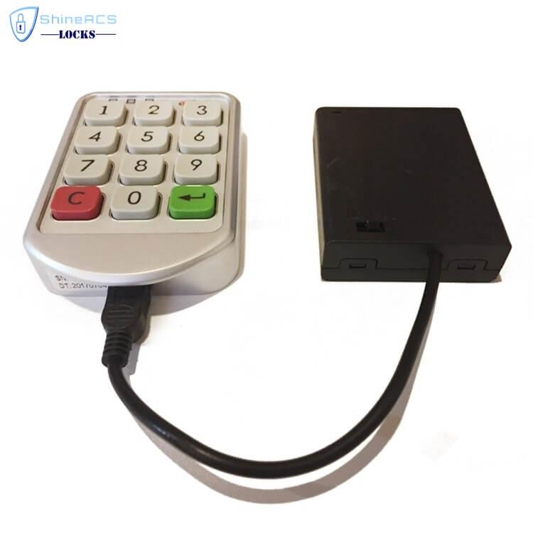 Code PIN Cabinet Lock SL C112 3 - Electronic Combination Keypad Smart Showcase Cabinet Lock SL-C112