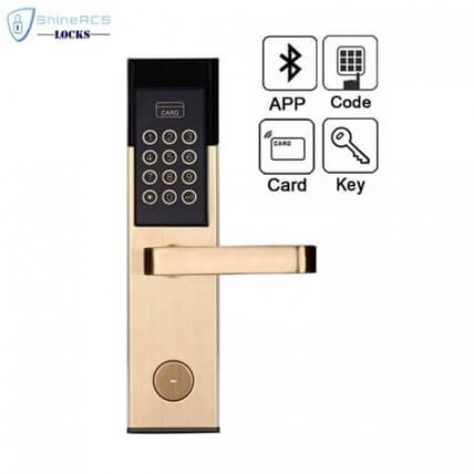 Hotel RFID Keypad Password Door Lock SL P8813 2 705x705 1 1 - RFID Keypad Password Hotel Door Lock with bluetooth SL-P850 Series