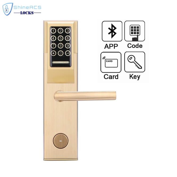 Keypad Password RFID Hotel Door Lock SL P8812 1 - Keypad Password RFID  Hotel Door Lock  SL-P881 Series