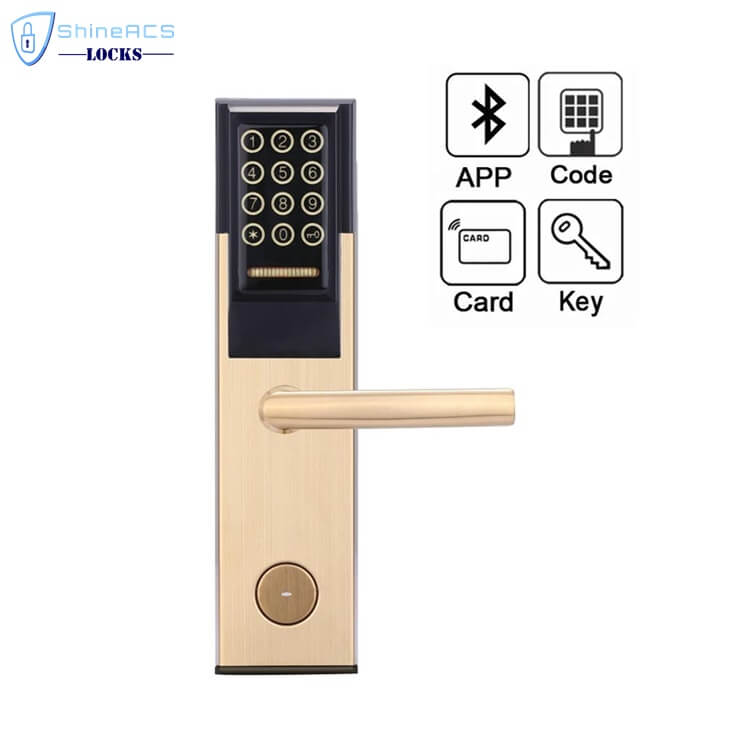 Keypad Password RFID Hotel Door Lock SL P8812 2 - Keypad Password RFID  Hotel Door Lock  SL-P881 Series