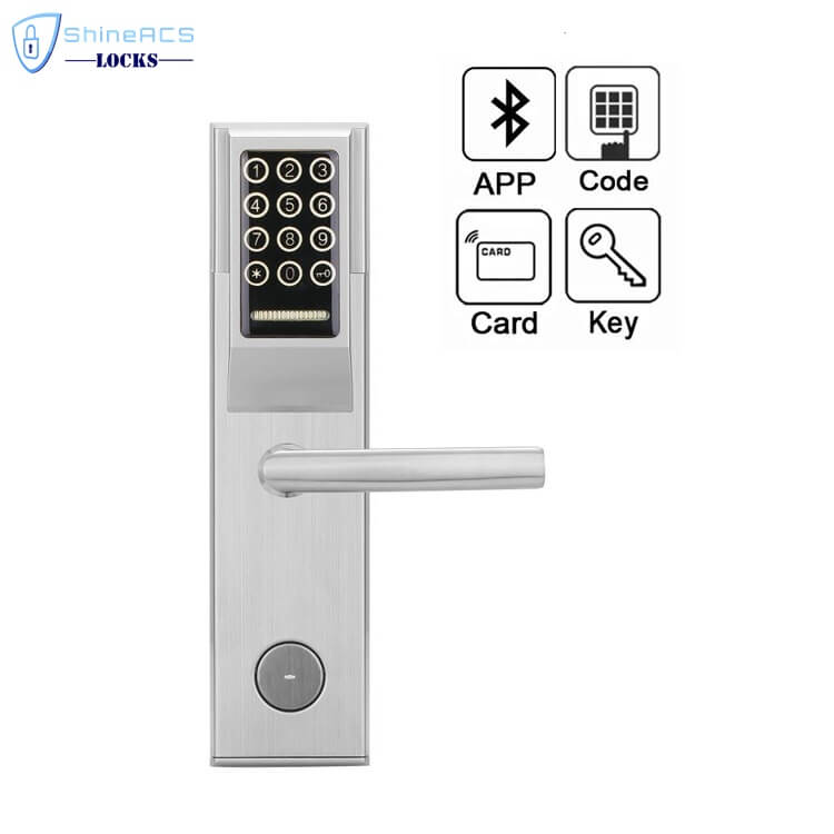 Keypad Password RFID Hotel Door Lock SL P8812 3 - Keypad Password RFID  Hotel Door Lock  SL-P881 Series