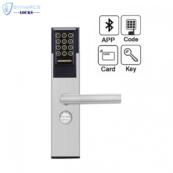 Keypad Password RFID Hotel Door Lock SL P8812 4 705x705 - RFID Keypad Password Hotel Door Lock with bluetooth SL-P8503A