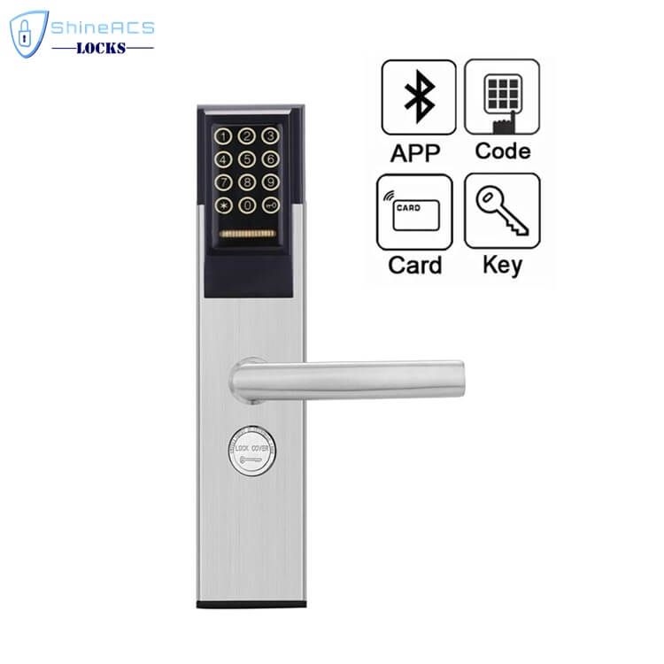 Keypad Password RFID Hotel Door Lock SL P8812 4 - Keypad Password RFID  Hotel Door Lock  SL-P881 Series