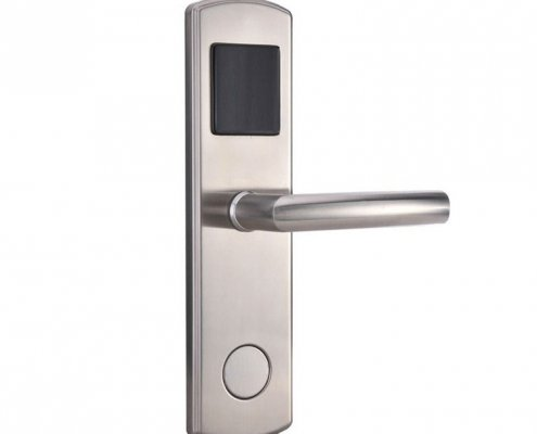 RFID Hotel Door Lock SL H8014 1 495x400 - RFID Security Commercial Card Swipe Door Locks For Home SL-HL8011-8