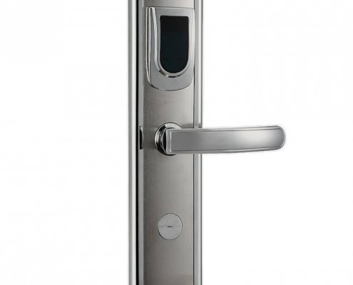 RFID Hotel Door Lock SL H8018 1 495x400 - RFID Proximity Entry Door Lock Access Control System For Hotels SL-HL8019