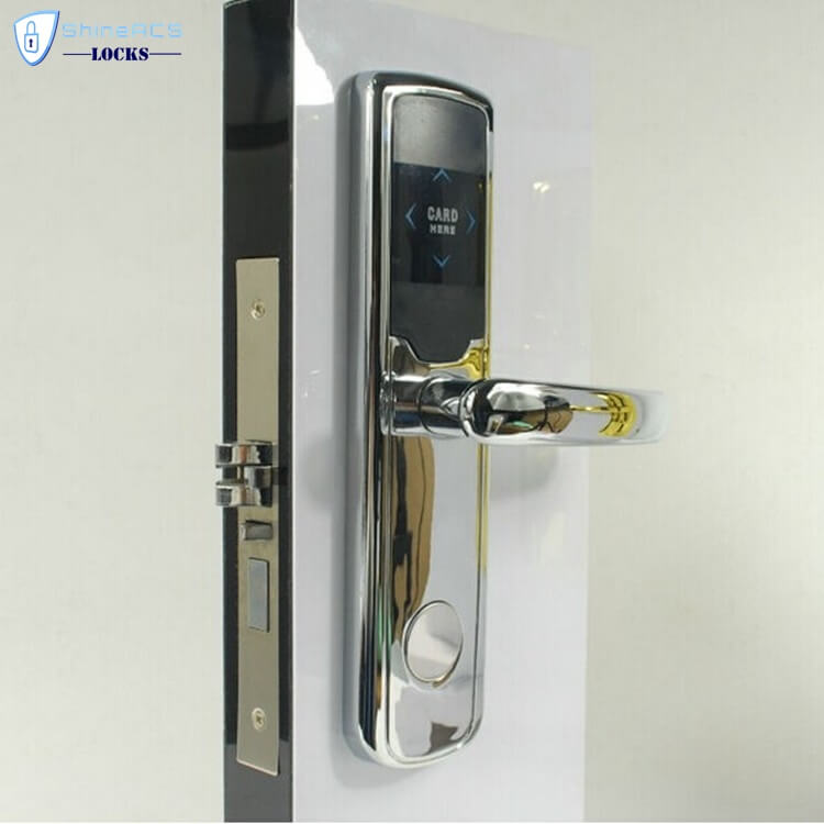 RFID Hotel Door Lock SL H8019 4 - RFID Proximity Entry Door Lock Access Control System For Hotels SL-HL8019