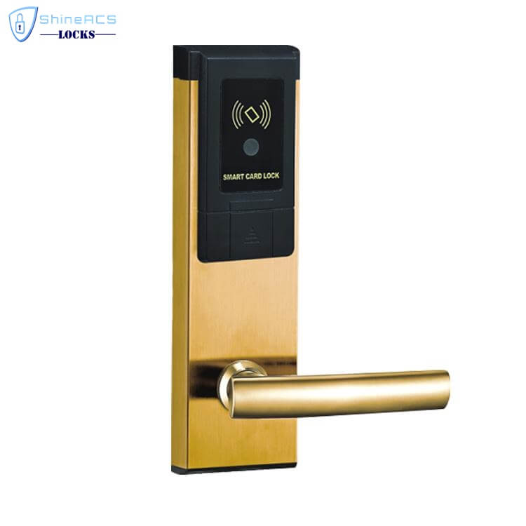 RFID Hotel Keycard lock SL 8113 2 - Intelligent Contactless RFID Hotel Electronic Door Locking System SL-HL8113