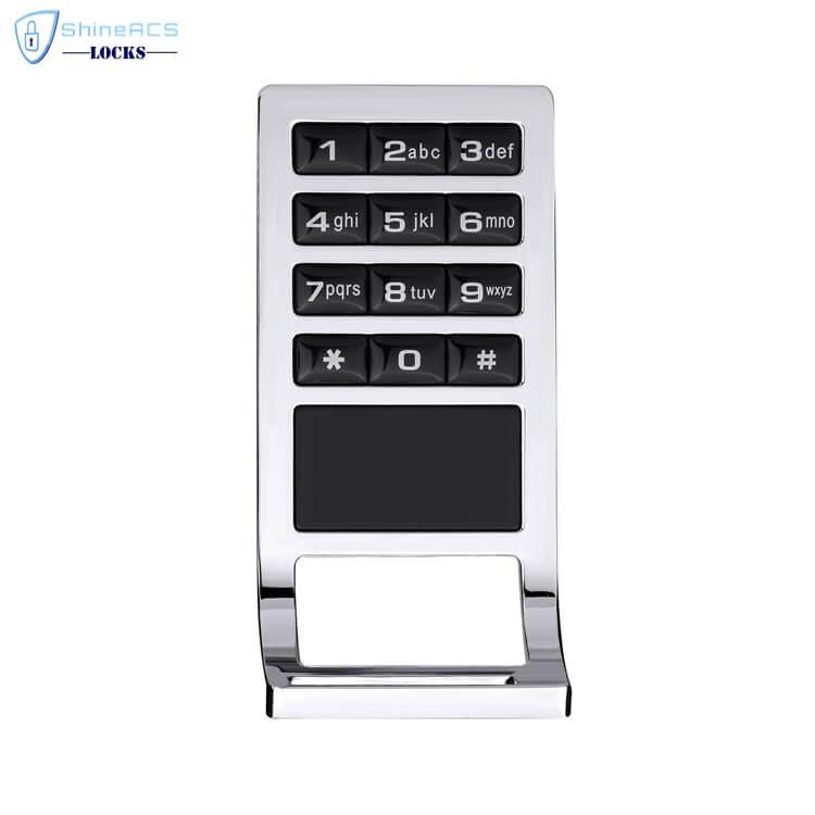RFID Keypad Cabinet lock SL C113 1 - Keyless RFID Electronic digital Keypad Cabinet Door Lock SL-C113
