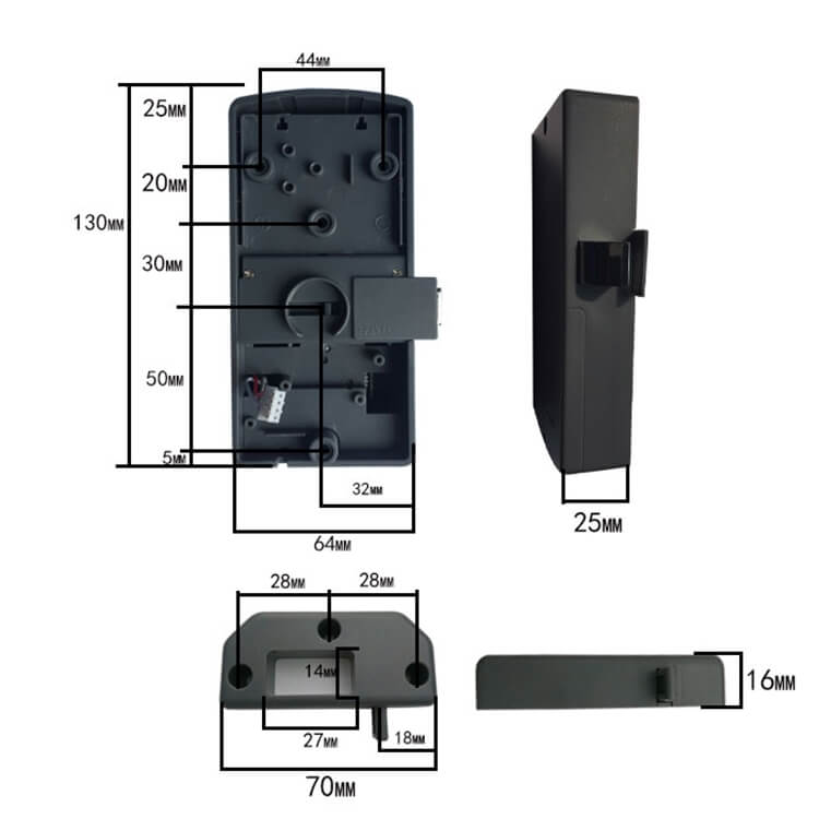 RFID Keypad Cabinet lock SL C113 - Keyless RFID Electronic digital Keypad Cabinet Door Lock SL-C113