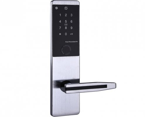 RFID Keypad Password Hotel Door Lock SL P85035 495x400 - Smart Electronic Digital door lock for hotel with Bluetooth SL-P8504A