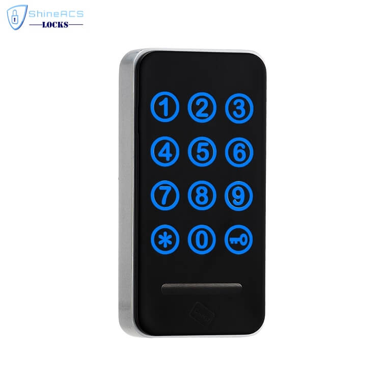 RFID Touch Password Cabinet Lock SL 115 1 - Smart keyless Digital Key Glass Showcase Cabinet Door Locks SL-C115
