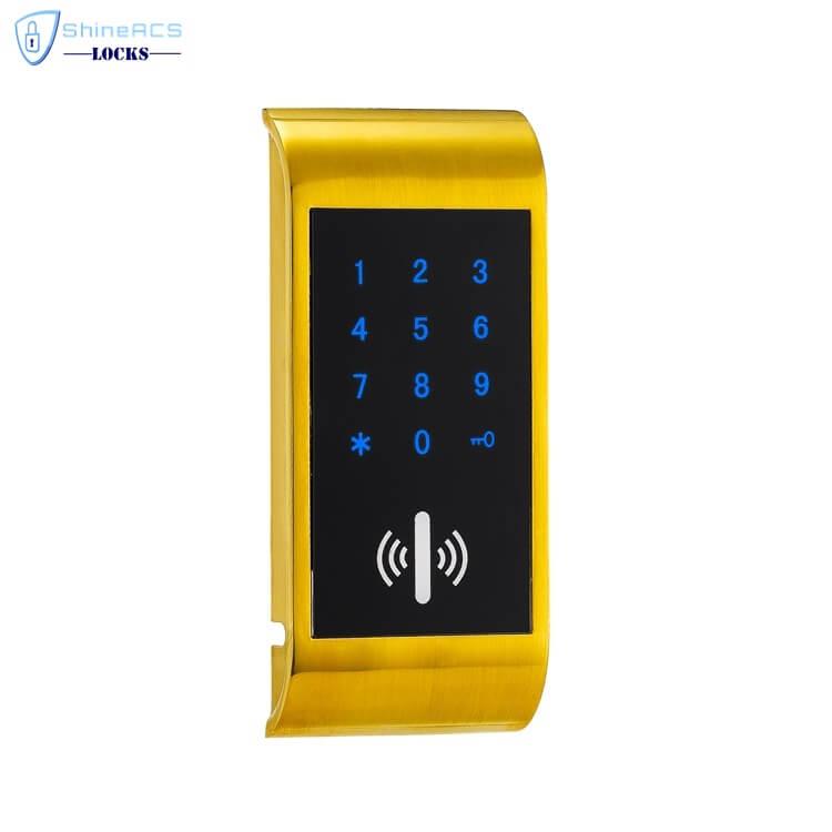 RFID Touch Password Cabinet lock SL C114 4 - Electronic RFID Keyless Touch Keypad File Cabinet Lock SL-C114