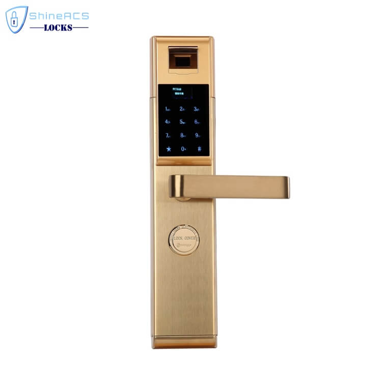 fingerprint lock for home SL F8901 3 - Keypad Password Fingerprint Smart Door Locks for House SL-F8901