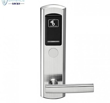 Electronic Door Small RFID Locks For Hotels With Card Swipe SL-HL8011