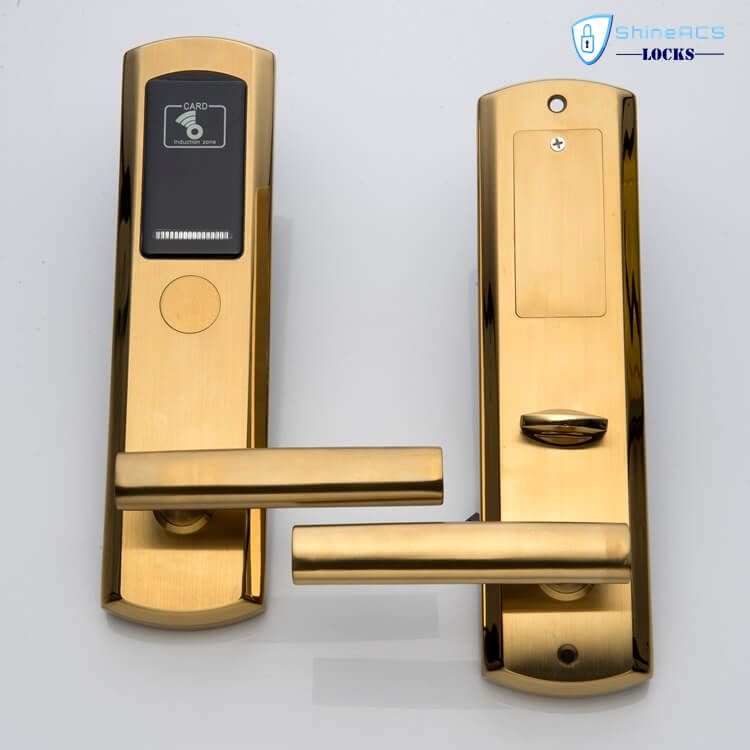 hotel room door lock SL H8181 4 - Hotel Room Door Lock SL-H8181