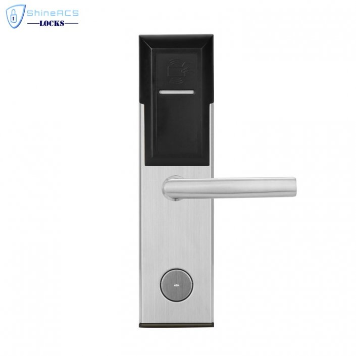 key card door lock for hotels SL 8011 4 1 705x705 - Keyless RFID Card Reader Door Lock  For Hotels Room Doors SL-HL8011-3