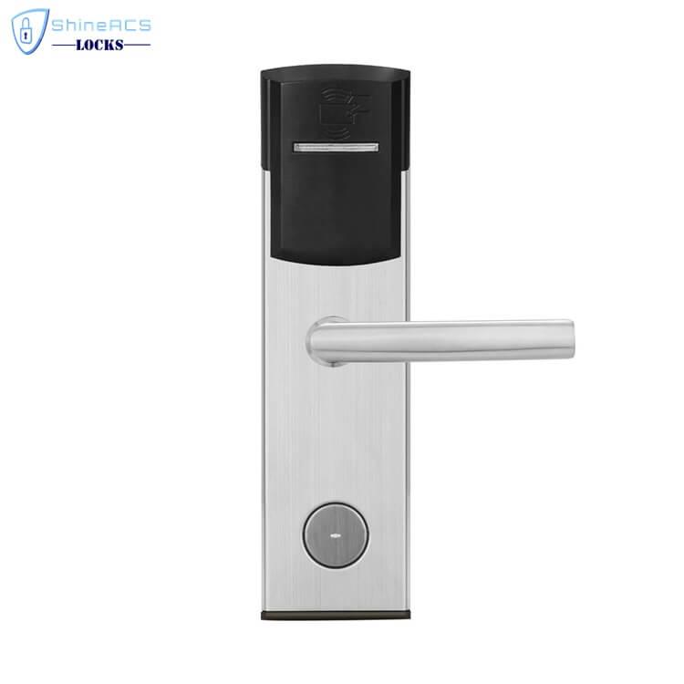 key card door lock for hotels SL 8011 6 1 - Card Swipe Electronic Digital RFID House Door Lock SL-HL8011-6