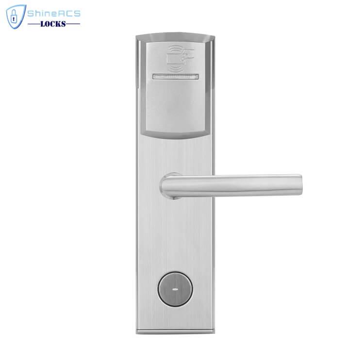 key card door lock for hotels SL 8011 6 4 - Card Swipe Electronic Digital RFID House Door Lock SL-HL8011-6