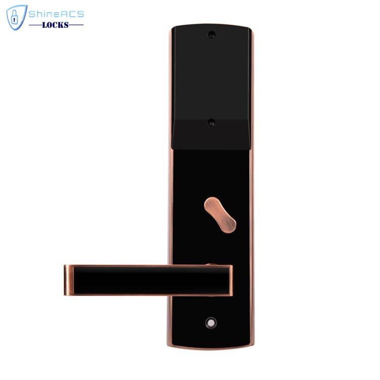 fechaduras rfid para hotéis SL H8501 2 - Fechaduras com cartão inteligente com segurança para portas de hotéis SL-HL8501