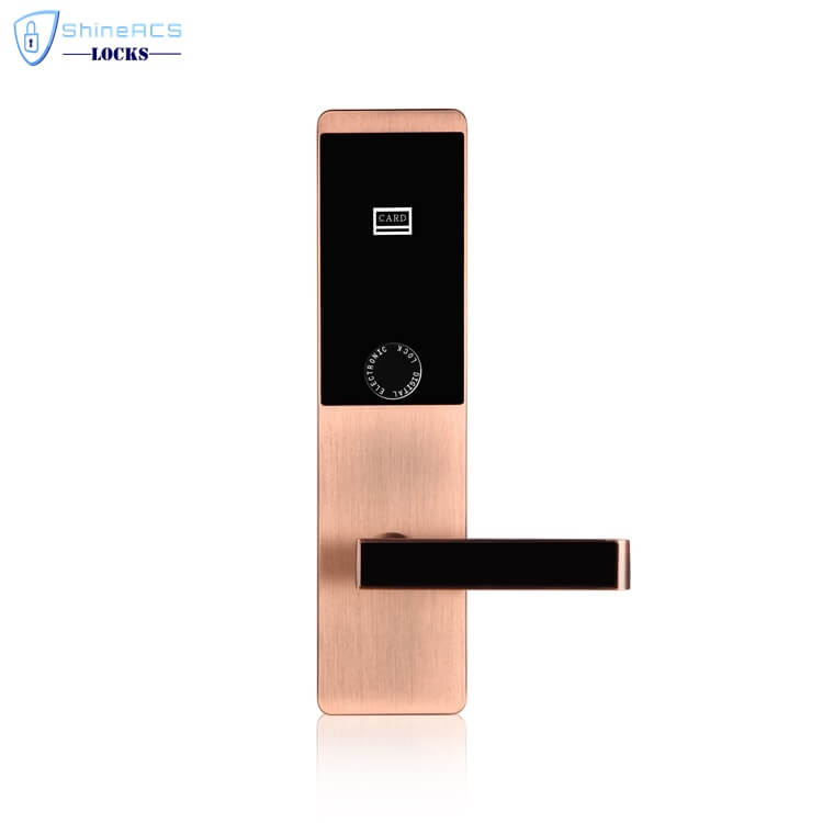 ล็อค rfid สำหรับโรงแรม SL H8503 3 - RFID การ์ดสัมผัสโรงแรมล็อคประตู SL-HL8503