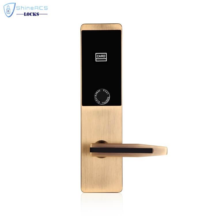 ล็อค rfid สำหรับโรงแรม SL H8503 4 - RFID การ์ดสัมผัสโรงแรมล็อคประตู SL-HL8503