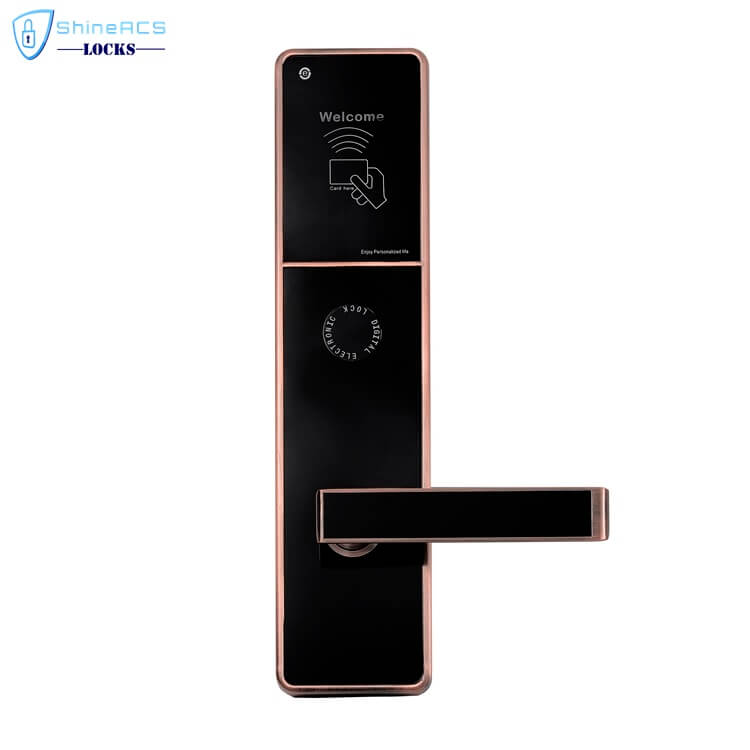 rfid locks for hotels SL H8505 5 - Electronic RFID Card Swipe Door Lock System For Hotels SL-HL8505