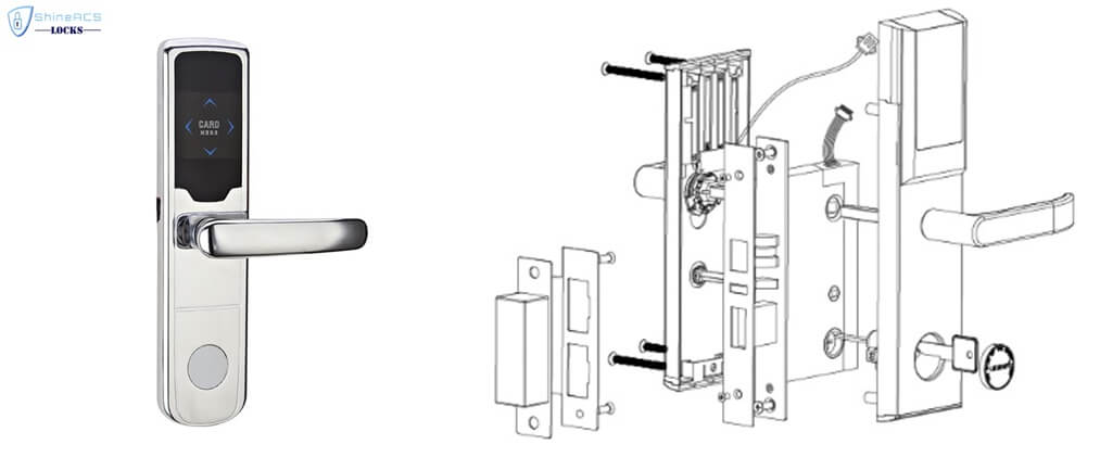 RFID Hotel door lock installation - BUYER GUIDE-Hotel door lock system how it works completely