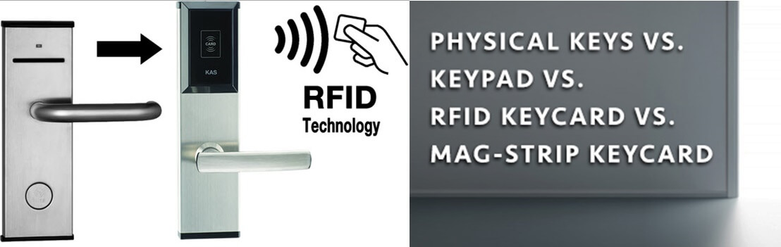 Why do hotels use RFID door locks - What is an RFID Lock and how do hotel door locks work