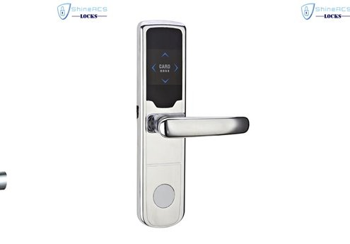 Zinc alloy RFID hotel lock 495x345 - What are hotel key cards and how do hotel key cards work?
