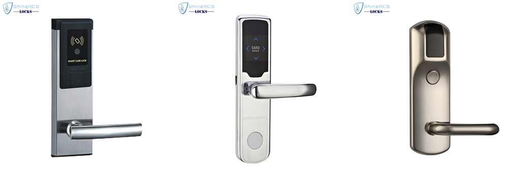Zinc alloy RFID hotel lock - BUYER GUIDE-Hotel door lock system how it works completely