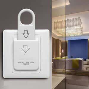 ระบบประหยัดพลังงานของโรงแรม ShineACS Locks - โซลูชัน