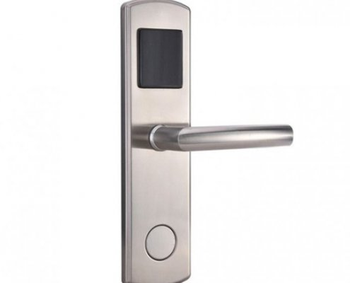 RFID Hotel Door Lock SL H8014 1 705x705 495x400 - Battery Powered Key Card Gate Lock For Hotel Guest Room SL-HL8011-4