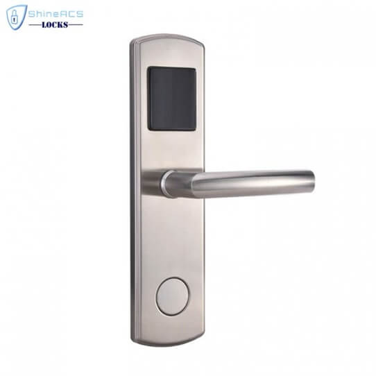 RFID Hotel Door Lock SL H8014 1 705x705 - Modern Smart RFID Key Cards Lock for Hotel and Cabinet