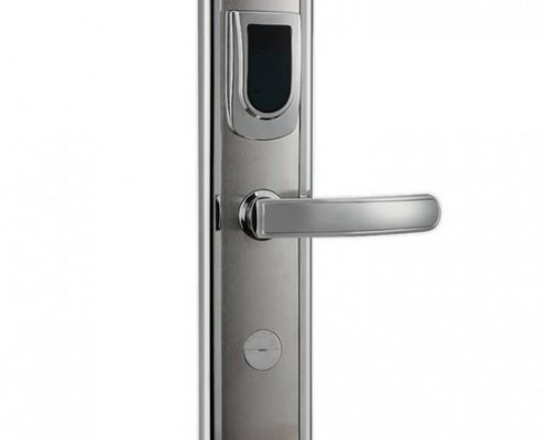 RFID Hotel Door Lock SL H8018 1 705x705 495x400 - Battery Powered Key Card Gate Lock For Hotel Guest Room SL-HL8011-4