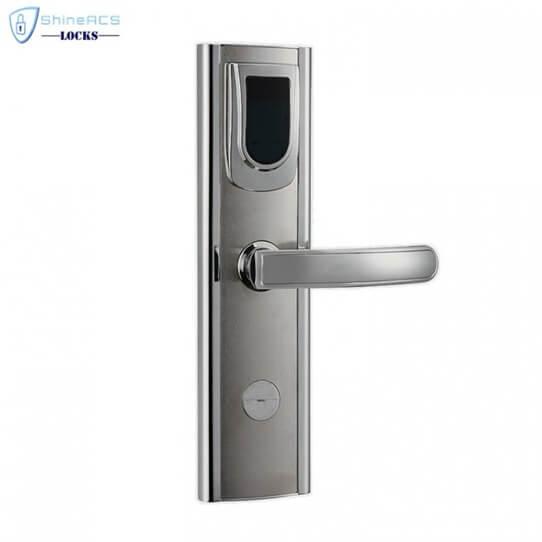 Fechadura da porta do hotel RFID SL H8018 1 705x705 - Fechaduras inteligentes para hotel RFID