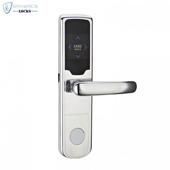 Fechadura da porta do hotel RFID SL H8019 2 705x705 - Fechaduras inteligentes para hotel RFID