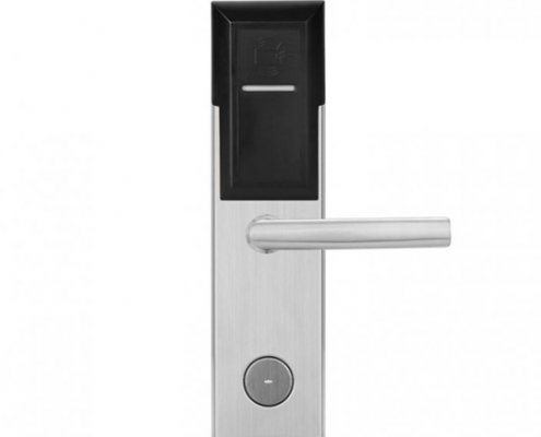 Battery Powered Key Card Gate Lock For Hotel Guest Room SL-HL8011-4