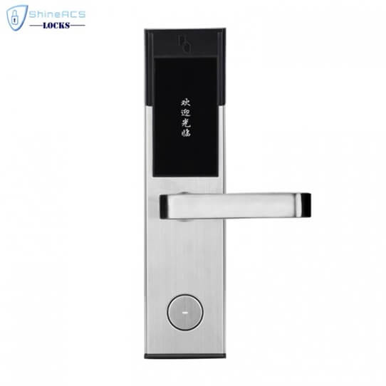 key card door lock for hotels SL 8011 8 1 705x705 - Battery Powered Key Card Gate Lock For Hotel Guest Room SL-HL8011-4