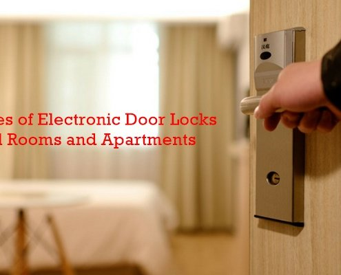 3 Best Types of Electronic Door Locks for Hotel Rooms and Apartments 495x400 - What are hotel key cards and how do hotel key cards work?