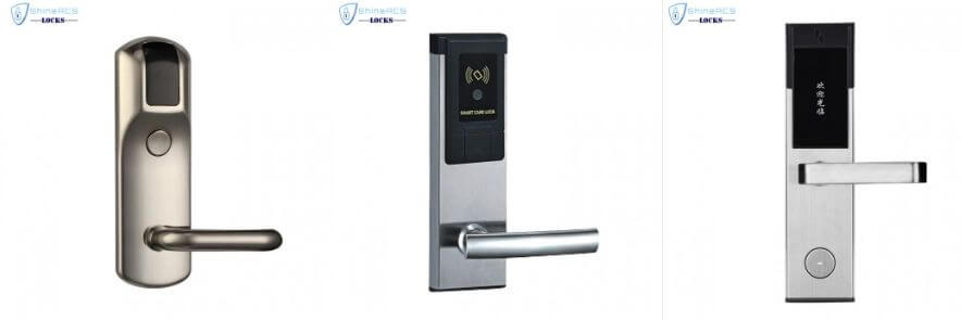 ShineACS Locks Stainless steel door locks for hotel rooms  - What is an RFID Lock and how do hotel door locks work
