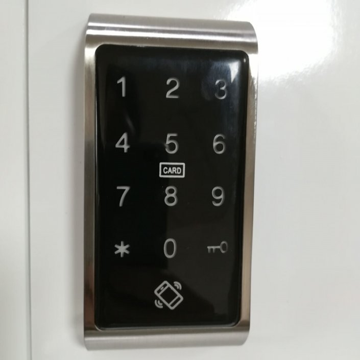 Bluetooth Small Electronic Cabinet Locks with Without Handles SL C116 3 705x705 - Keyless RFID Electronic digital Keypad Cabinet Door Lock SL-C113