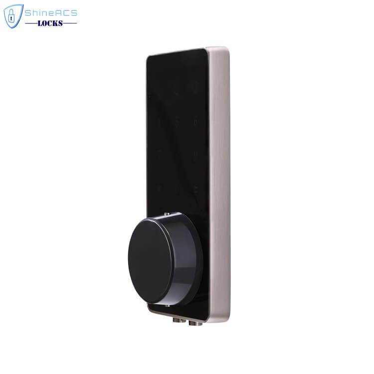 SL HS8055 15 - Fechadura da porta eletrônica inteligente de Bluetooth com trava para apartamentos