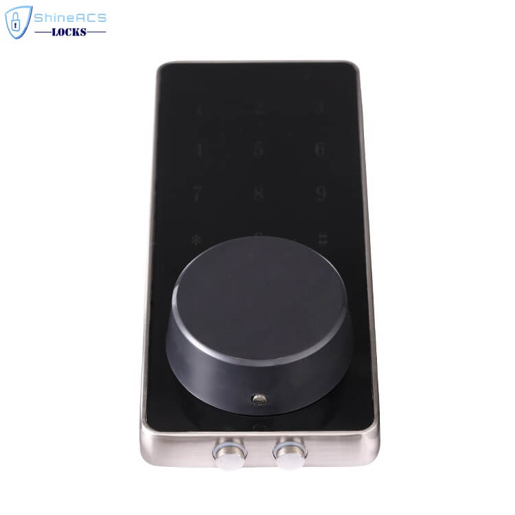 SL HS8055 16 - Bluetooth Smart Electronic Door Lock With Deadbolt for Apartments