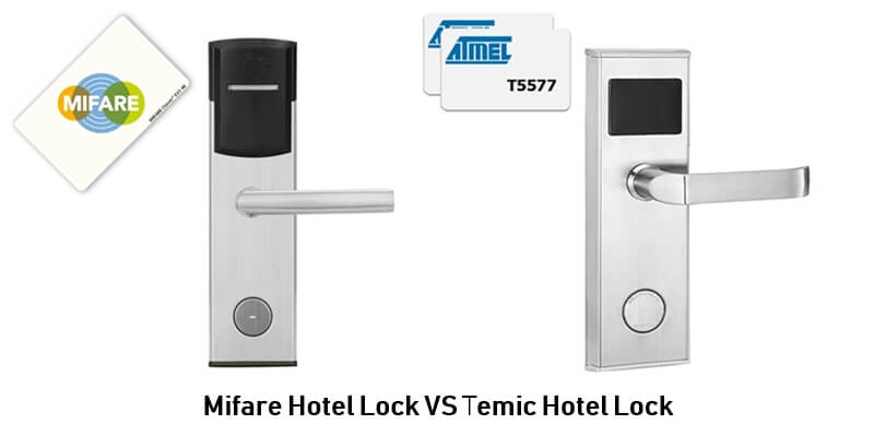 Mifare Hotel Lock VS Temic Hotel Lock - BUYER GUIDE-Hotel door lock system how it works completely