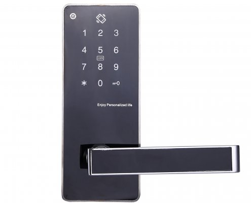 Smart RFID Mifare Door Lock with Pin Code and Mechanical Keys SL-P8822 (3)