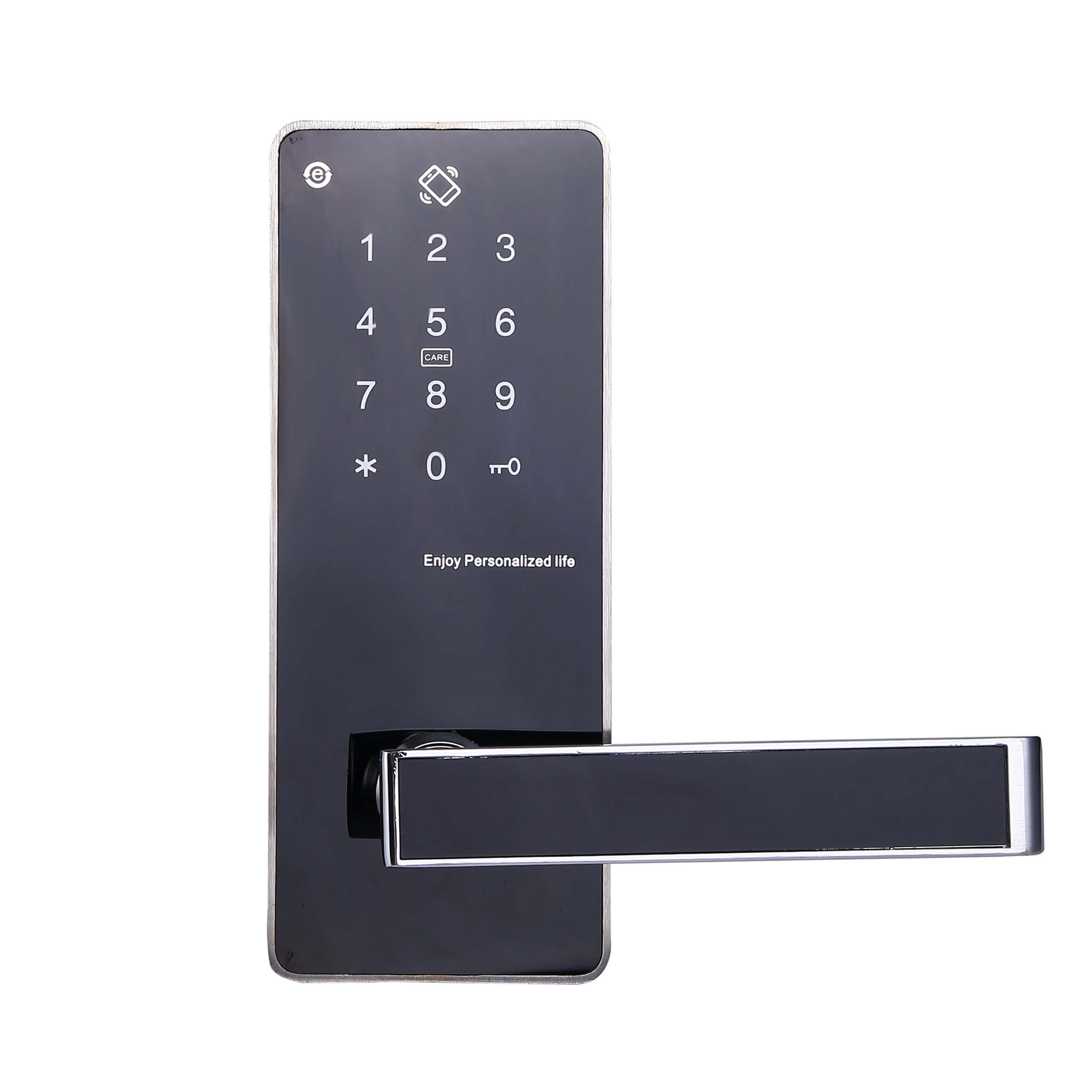 Smart RFID Mifare Door Lock with Pin Code and Mechanical Keys SL P8822 3 - Smart RFID Mifare Door Lock with Pin Code and Mechanical Keys SL-P8822