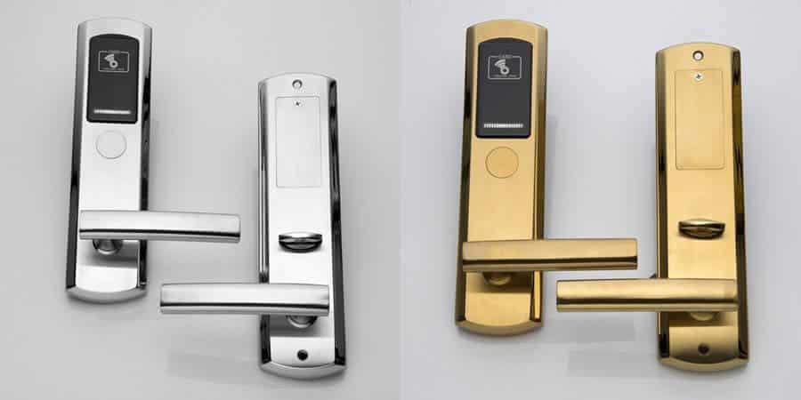 Fechaduras ShineACS Fechaduras de aço inoxidável para quartos de hotel - Como escolher fechaduras com cartão RFID para quartos de hotel?