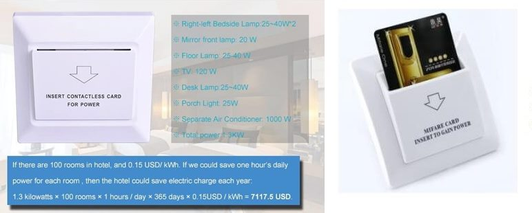 hotel energy saving switch 1 - What is Key Card Hotel Energy Saving Switch? And how does it save power for hotels?