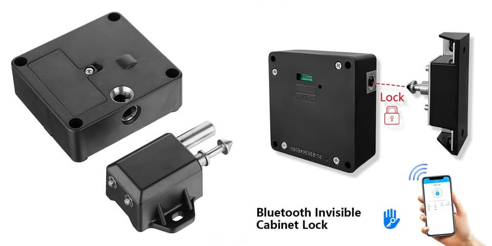 Bluetooth cabinet lock - Smart Cabinet Locks
